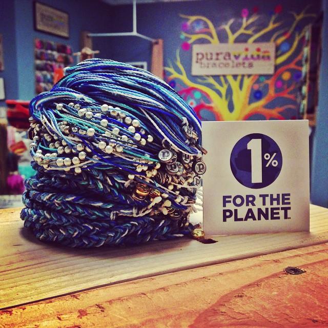 Thank you to member @puravidabracelets for the bracelets that #giveback! #loveblue