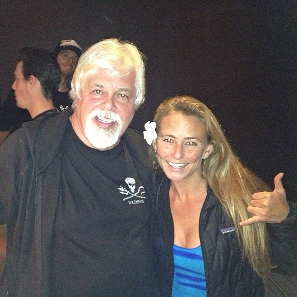 If anyone is living proof we can make a difference in the world...#paulwatson #seashepard #changingtheworldoneadventureatatime