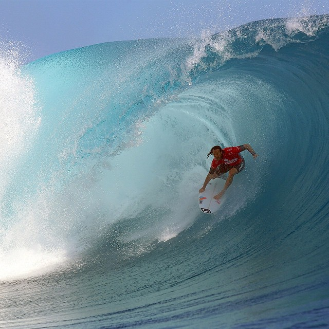 """Every time you catch a wave, it's a new experience.  That is what drives me.""-@jordysmith88 ("