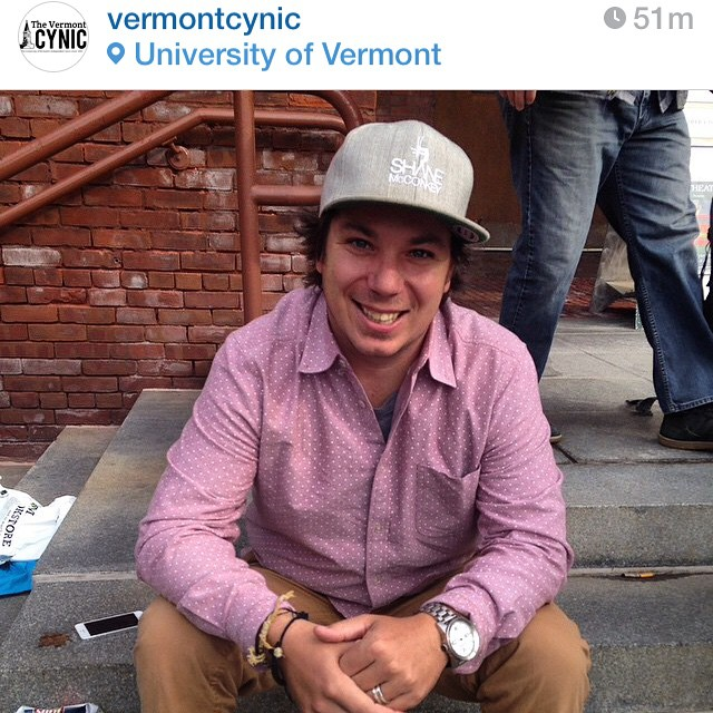 #regram from @vermontcynic | #humansofuvm