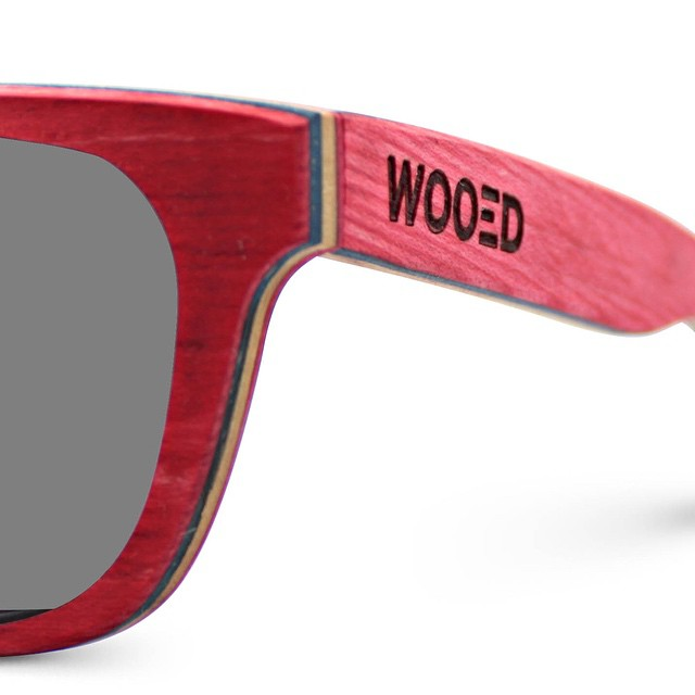 Contest time! The WOOED team creates sunglasses from reclaimed skateboard wood (maple). To enter: 1. Find the RED pair on our site and 2. Post the link on our feed for a chance to win. We will announce the winner Sunday :)