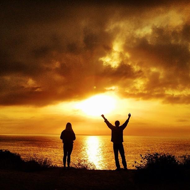Malibu surf adventure #flatbutbeautiful #darn #sunrise @hisarahlee @surfisswellbro