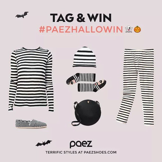 Twist tour #halloween custome, add your #paez, tag your pict with #paezhallowin and win a pair of Paez!  #worldwidecontest