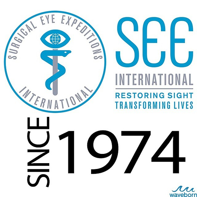 Did you know that our donation partner S.E.E. is a California-based nonprofit, coordinating sight restoring programs worldwide since 1974?