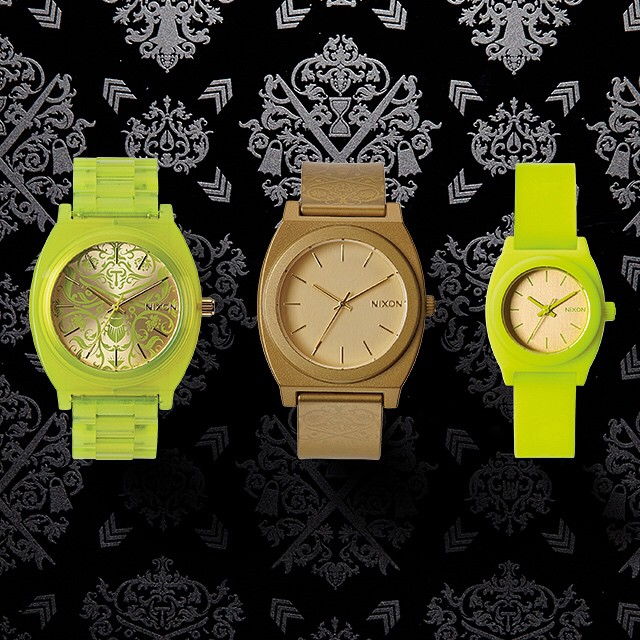 Look closely.  Introducing the Ornate collection, new from Nixon. #thetimetelleracetate #thetimetellerp #thesmalltimeteller #nixon