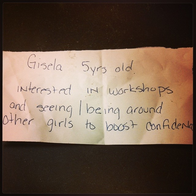 Note from last GRO session at #skatebrooklyn. #girlsridersorg #gronyc