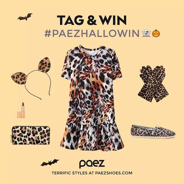 Costume ready? Get your leopard ears! Tag your picture with #paezhalloWIN and win a pair of #Paez  #worldwidecontest