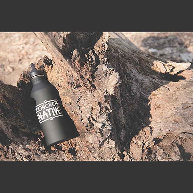 Remember to stay hydrated this Fall and Winter season, this Public Service Announcement was brought to you by the Concrete Native x Mizu water bottle. #staythirstymyfriends #Mizu #mizulife #concretenative