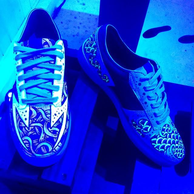 Volcom footwear Steelo by @mvarbaro #Art FeaturedArtist