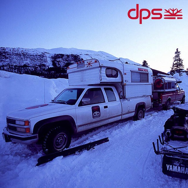 Ever wonder where the Cassiar Family of skis was named from? Alcan Highway along the #PowderRoad trip, 2005. #dpsskis #dpsroots #tbt #skiing