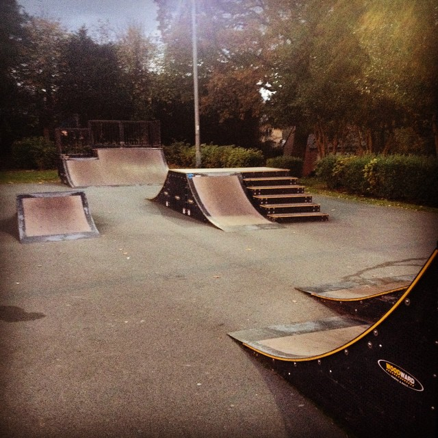 Found this little spot in Llangollen Wales. #skatetheedges