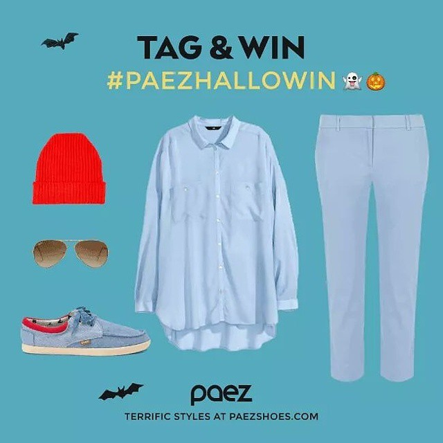 Add your #paez to your #halloween costume, take a picture tag it with #paezhalloWIN and win a new pair! Wooo-hooo!  #worldwidecontest