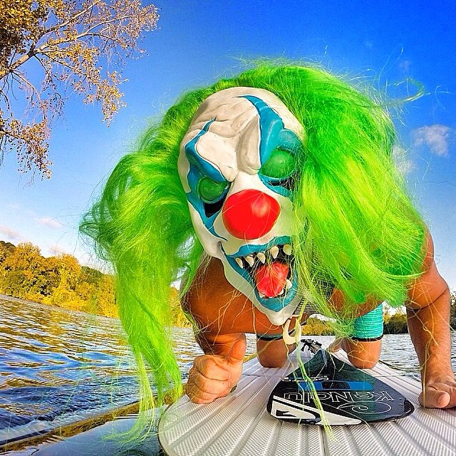 HAPPY HALLOWEEN!! DONT FORGET TO USE PROMO CODE GHOSTS FOR 30% OFF AT KAMELEONZ.COM - EXP SOON! | Crazy #Halloween pic by @surf06