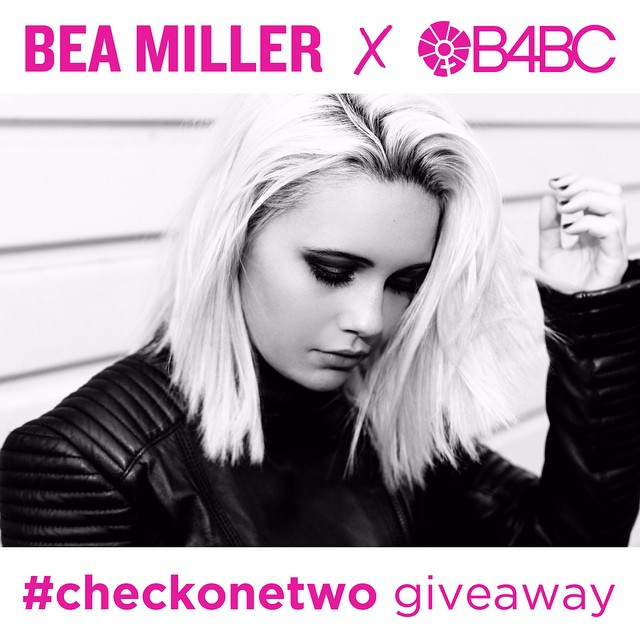 "@B4BC and @BeaMiller have teamed up for the last days of #BreastCancerAwareness Month to remind you to put health education at your fingertips!  Just download the free #B4BC app for iPhone and Android then enter your email address under ""SIGNUP"" for a..."