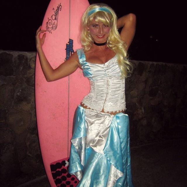 Throw back...surfing Cinderella.  #HappyHalloween