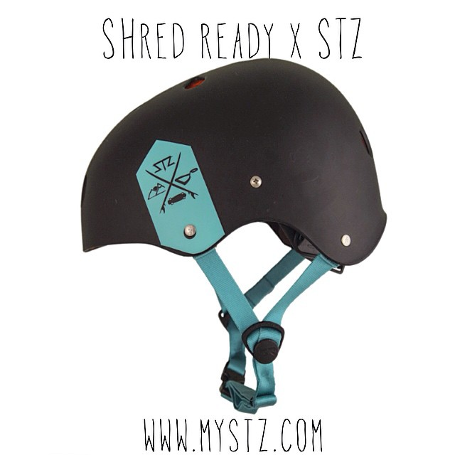 Now Available online @ www.mystz.com // @shred_ready_helmets X @stzlife happy shredding Colab helmets // matte black or burgundy... Keep your noggin protected! #safetyfirst  #wakeboard #wakeskate #happyshredding #railinspectors #shredtillyourdead #shrednc
