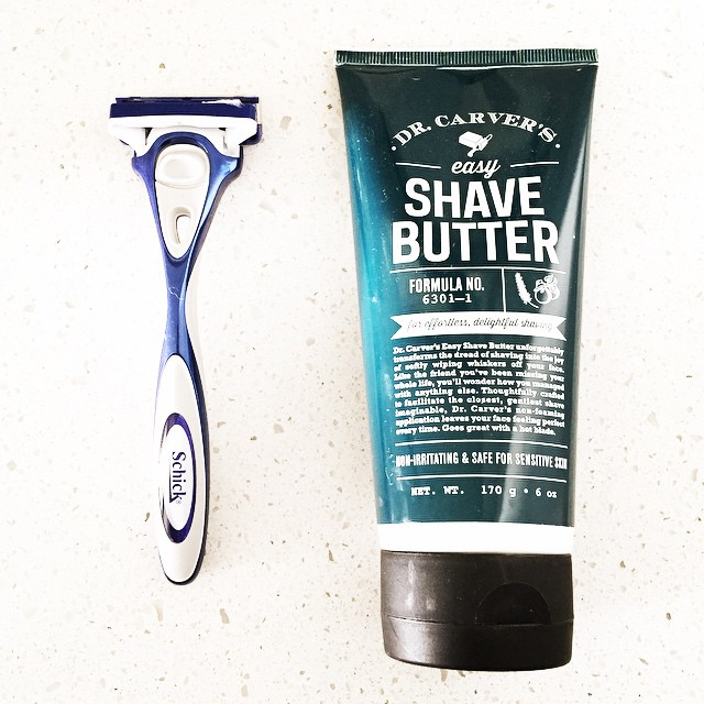 Remember to start the first day of #Movember with a clean shave! @dollarshaveclub @movember
