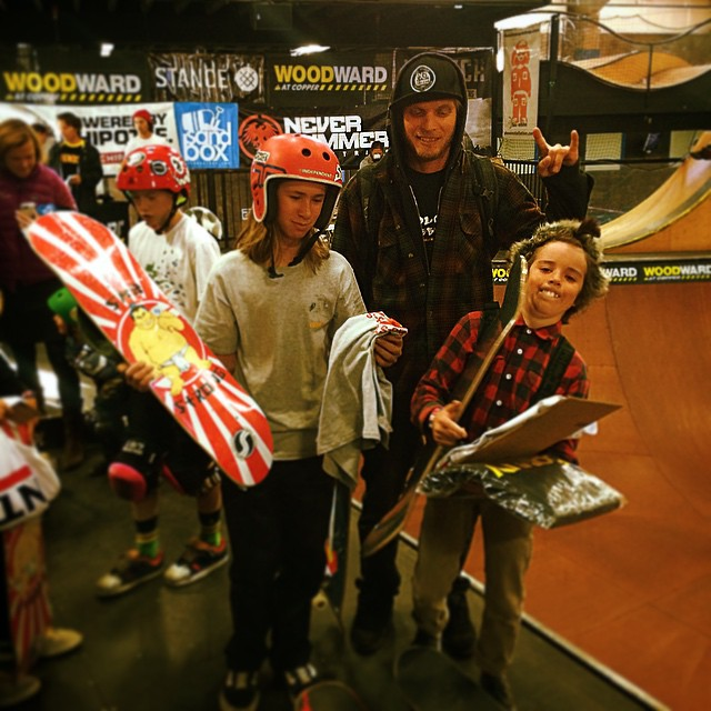 Great skating Colorado Skateboards shreds and a 1st pl for Jack Coyne and 2nd pl for Dylan Okurowski today at Woodward!