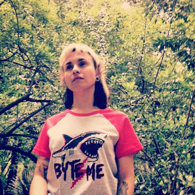 Byte Me ❤️ #shark #tshirt #design #pixelart #pixel #red #fashion #stamp #look #casual #tiburon #byte #me