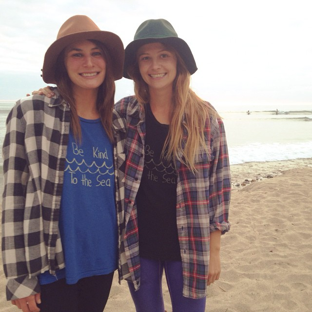 Our hemp and organic cotton tees are a comfy base layer for those chilly fall beach days