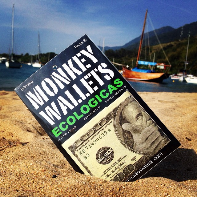 #monkeywallets #ilhabela #brasil @monkeywallets
