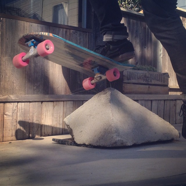 """Test ride """"no comply"""" on the new Ghost shape  #recycledskateboards #irisskateboards"""