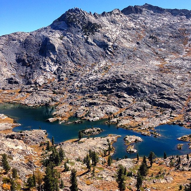 Island Lake, Desolation Wilderness //
