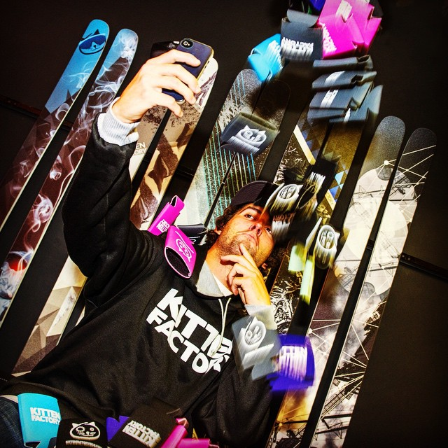This wonderful man crush Monday goes out to @matt_heffernan. Hyped to have you join the crew! #kittenfactory #mcm #squad #selfie #catsonskis