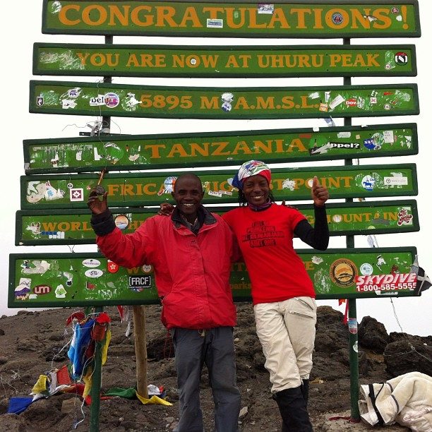 So, we made it to the highest point in Africa. We climbed 19,341 ft in 5 days to reach the top of Mt. Kilimanjaro. This experience was beyond amazing. It was one of the most physically and mentally challenging activities we've ever put ourselves...