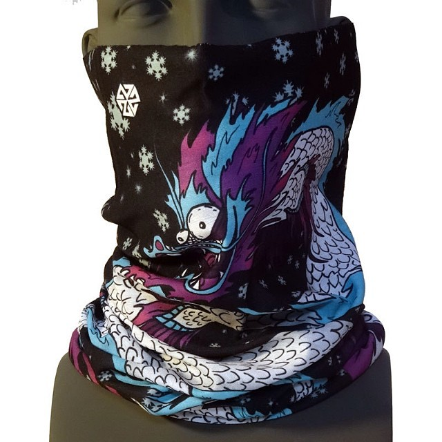 New! Happy Snowdragon Tshield by LEVEL7 Artist @kyehalpin.  Limited edition of 300. Grab one before they are gone at www.avalon7.co