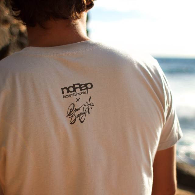 noRep x Drew Brophy tees. Find them at norepboardshorts.com