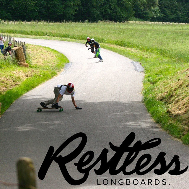 @yanismarkarian charging hard on his #restlessNKD . #restlessboards