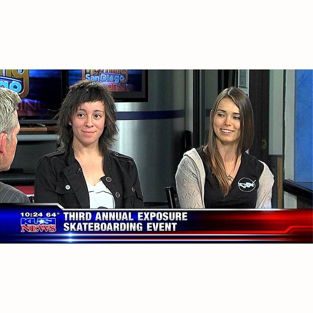 Thank you #KUSI #GoodMorningSanDiego for the awesome exposure for #EXPOSURE2014! Watch the segment at http://bit.ly/10qD2q7 (link in bio also).