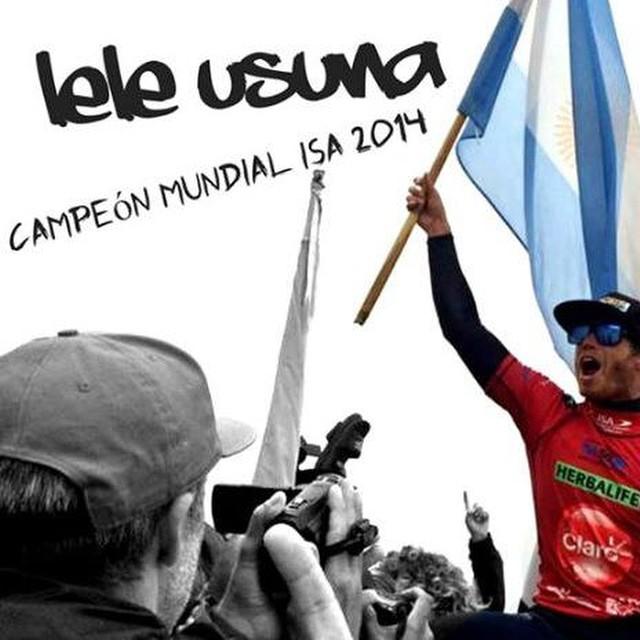 Más de @leleusuna, linda nota de Surfing Latino! http://bit.ly/1t8tner Felicitaciones Champ!!!