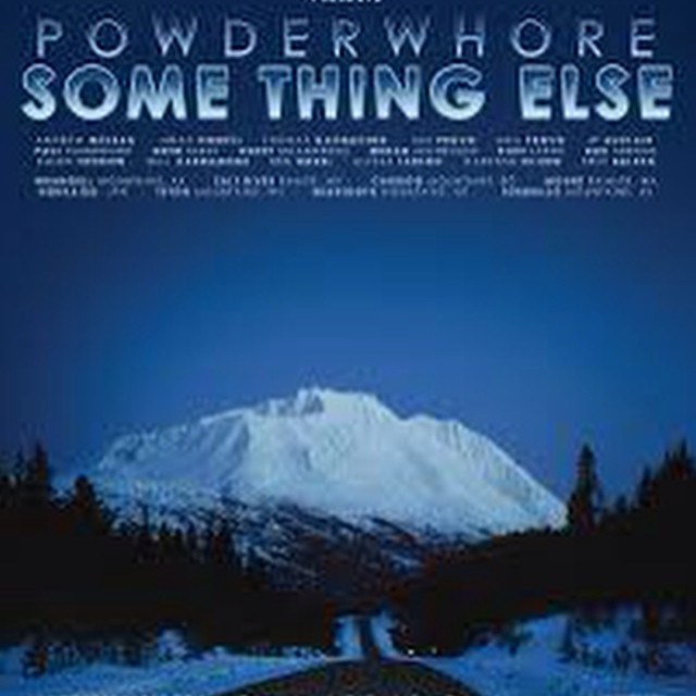 "Tonight's the night. See you Denverites at the Oriental Theater for @powderwhores ""Something Else""."