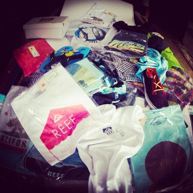 Total Look Reef: @sebas_ventura  también está preparado para el verano, y vos? #reefguys #tshirts #summer #reefargentina