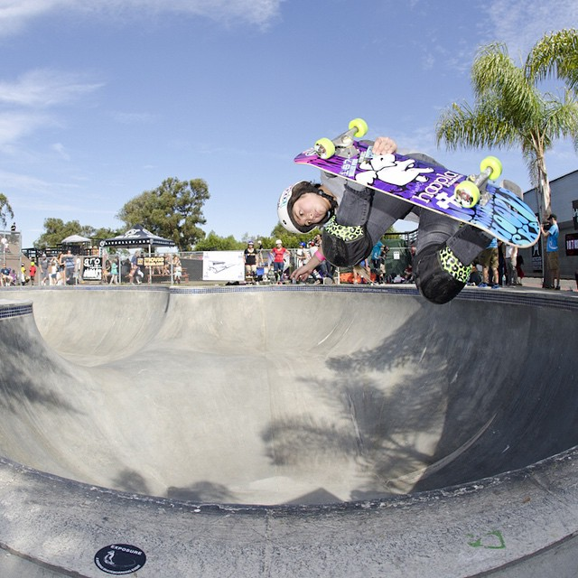 Get the latest #EXPOSURE2014 info, including the big day's schedule of events, at exposureskate.org/?page_id=133.