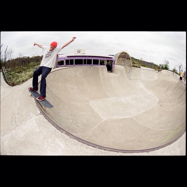 @_jensen_7 skating a dream! PC: @thomastrnka #supportDGM #calibertrucks #caliberstandards #skatesgiving