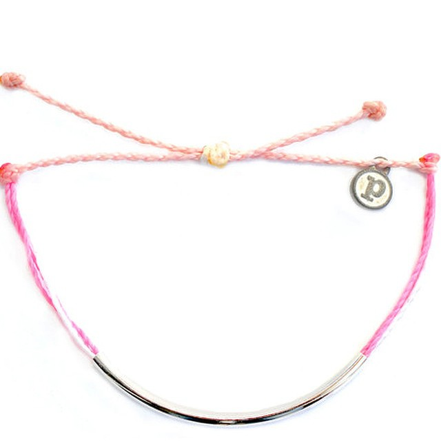 We are LOVING the newest addition to the B4BC x @PuraVidaBracelets line...The Silver Bar Boarding 4 Breast Cancer bracelet! Now you can rock your #puravida support with a little b l i n g. Check out the full line and more at www.b4bc.org/shop