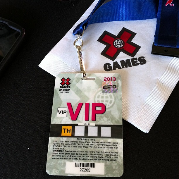 Flipside Fresh is at the 2013 X-Games #fsf #flipsidefresh #sk8fsf #streetcompetition #xgames2013 #xgames #allaccess #espn