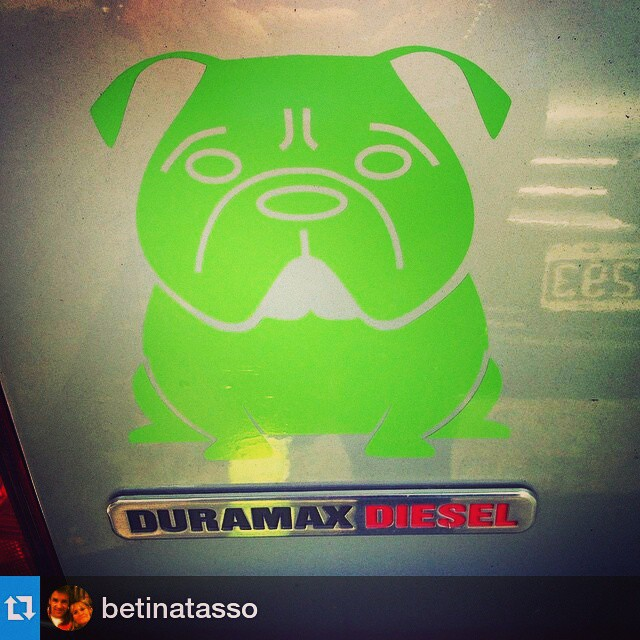 Sigue y sigue, que esperas para tener tu calcomania?! #Repost from @betinatasso with @repostapp —  Ugly KooKy!