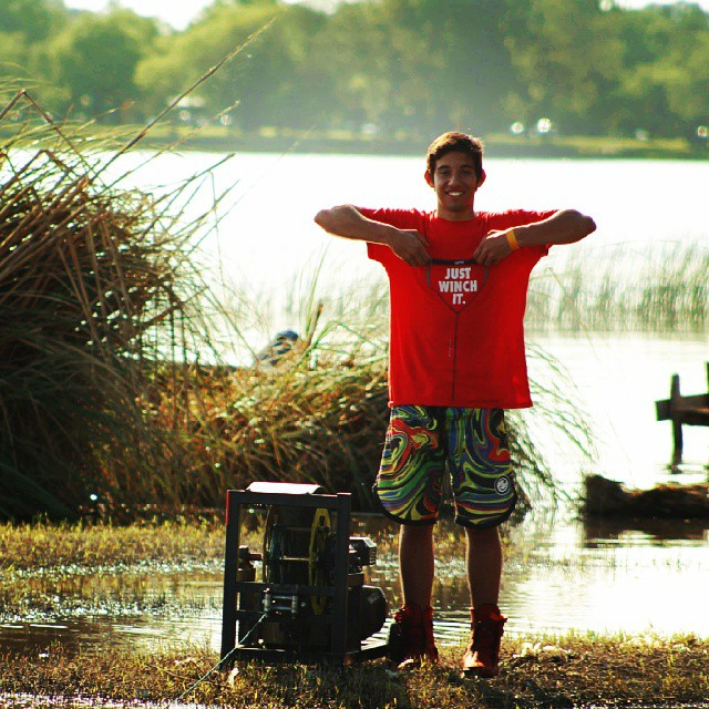 Just Winch it #wow #2014 #shirts #wakeboarding