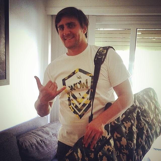 Desde Córdoba el Rider @leomartinez ya tiene su boardbag y su remera CAMMO!!