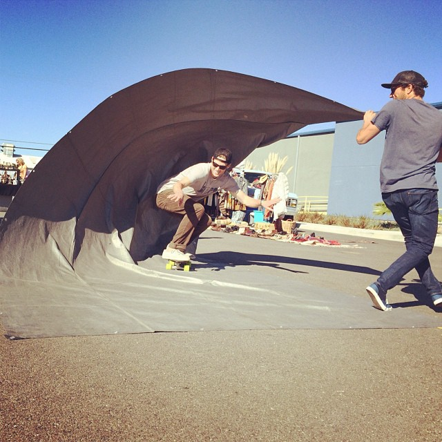 """Most fun I've ever had on fishnets"" -Urban barrel rider  #netstodecks #vivabureo #urbanbarrels @urbanbarrels"