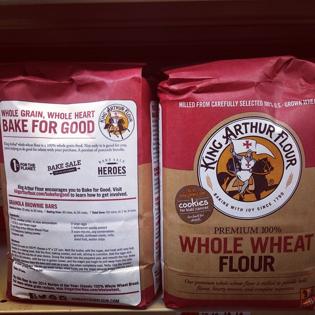 Member product spotted! Welcome to the network, @kingarthurflour!