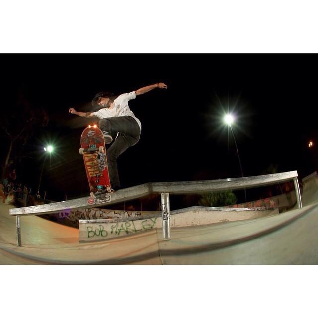Transfer Frontside Noseblunt de @renatodonadei en Parque Sarmiento Skatepark