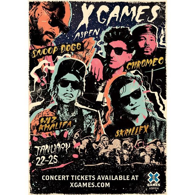 That #XGames Aspen music lineup tho.