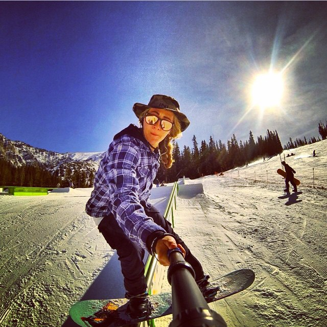 Starting to feel more and more like #Winter , when your having early season fun @arapahoe_basin . Shameless #Selfie by @erikathevikingvikander #Rockies @mountaingirls