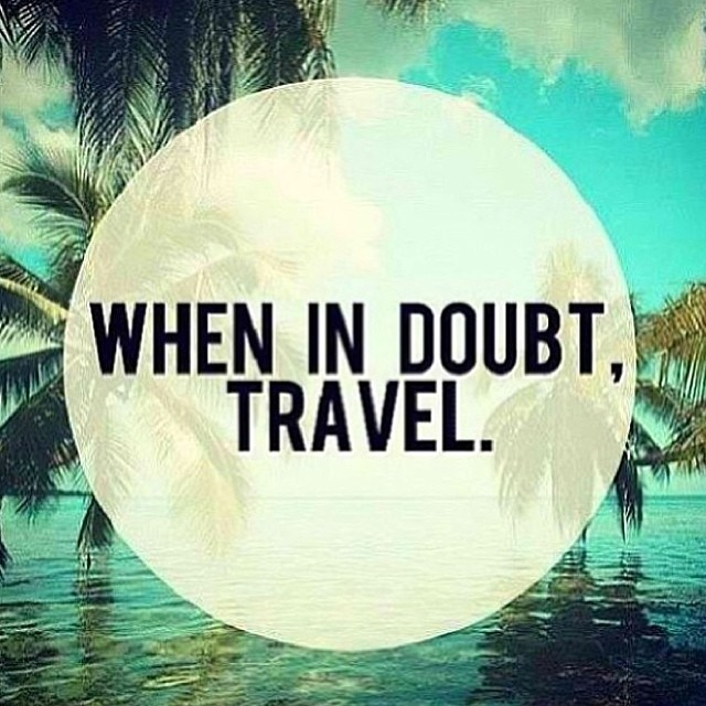 Travel brings awareness, peace, opportunity, perspective, experience and the opportunity to go inside ourselves to come back more relaxed and grounded! #whenindoubttravel #motto #localhoneydesigns #awareness #adventure #peace #faceyourfears #openheart...