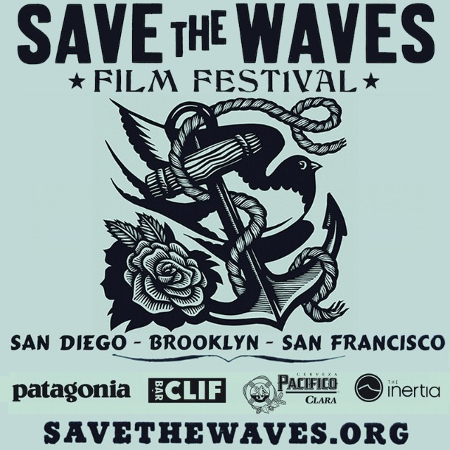 Friday Night // Birds Surf Shed in San Diego // Film Fest Premiere // Get your tix at SaveTheWaves.org and join us for an epic night of surf flicks and good people! @patagonia @clifbarcompany @pacifico @theinertia